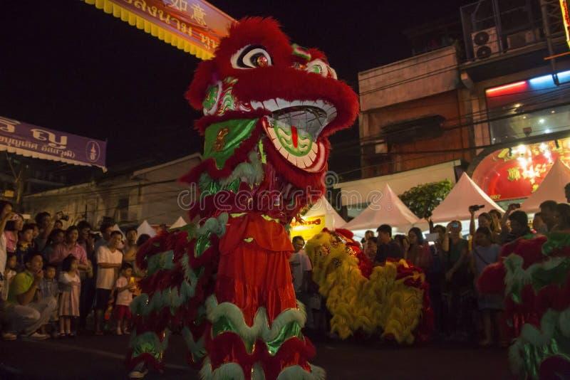 Chińscy nowy rok świętowania Bangkok, Tajlandia - fotografia royalty free