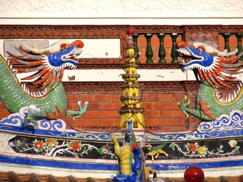 chińscy smoki fotografia royalty free