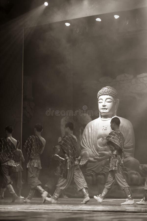 Chińscy sztuka samoobrony michaelita bronią świątynię zdjęcia royalty free