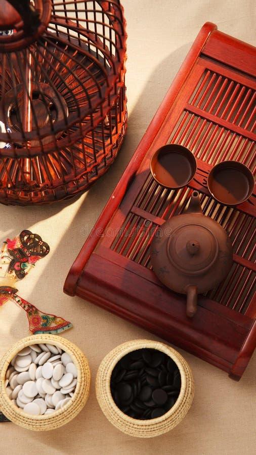 Chińscy tradycyjni przedmioty zdjęcia royalty free