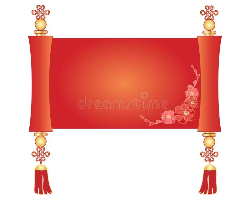 chińska ślimacznica royalty ilustracja