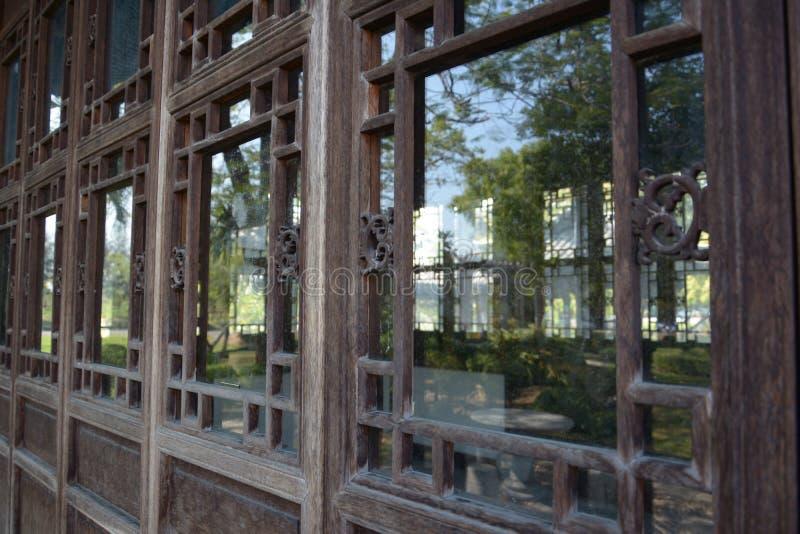 Chińska architektura obraz royalty free