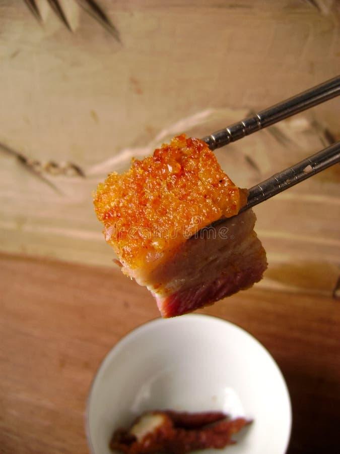 chińska barbecued wieprzowina fotografia stock