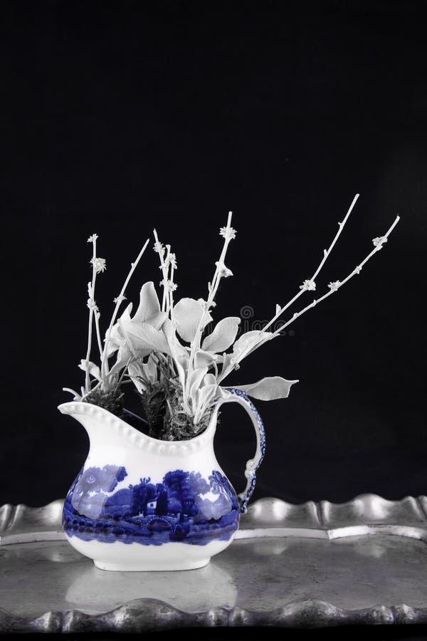 Chińska black&white dekoracja fotografia royalty free