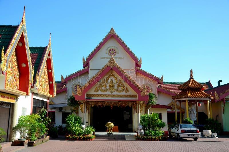Chińska Buddyjska Taoistyczna świątynia z Guanyin statuą Ipoh Malezja obrazy stock