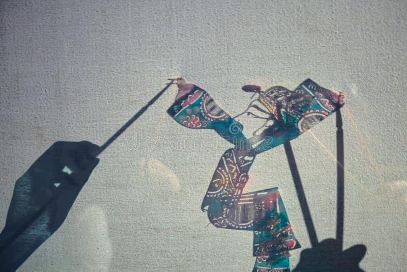 Chińska cień sztuka obrazy stock