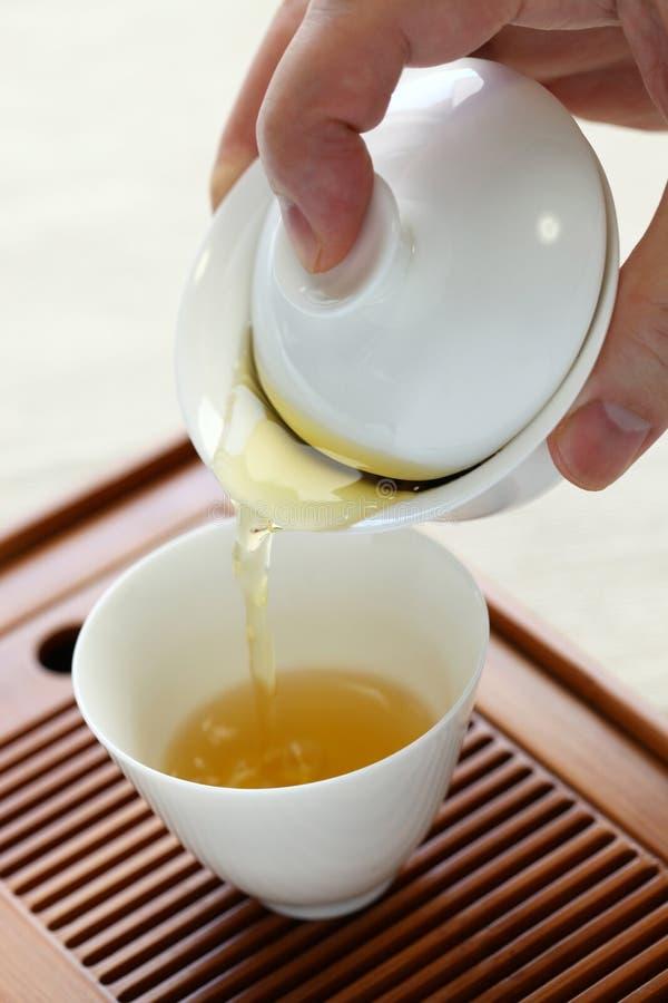 Chińska herbaciana porcja zdjęcia royalty free