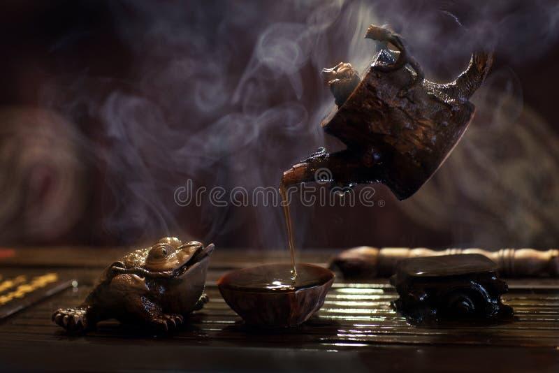 chińska herbata zdjęcie royalty free