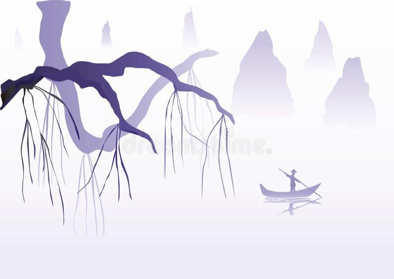 chińska ilustracja zdjęcia stock