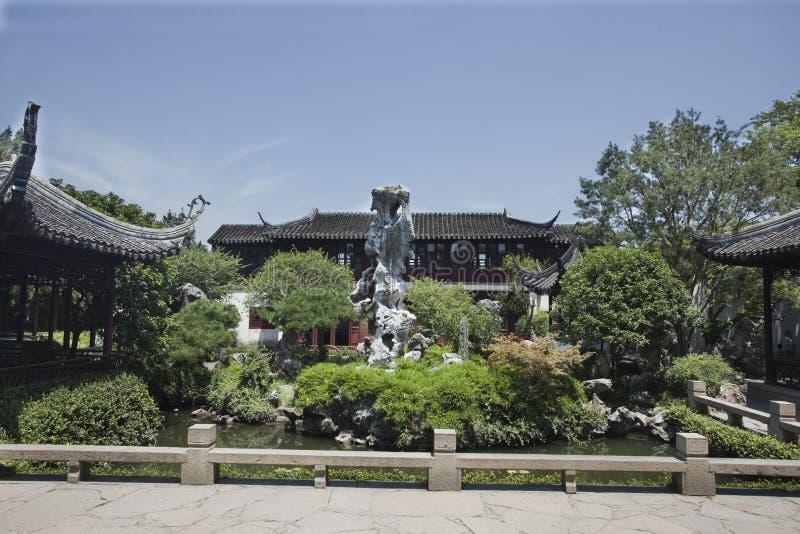Chińska Klasyczna architektura obraz royalty free