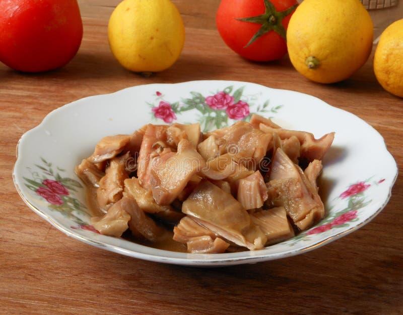 Chińska kuchnia braised wieprzowina żołądek obrazy royalty free