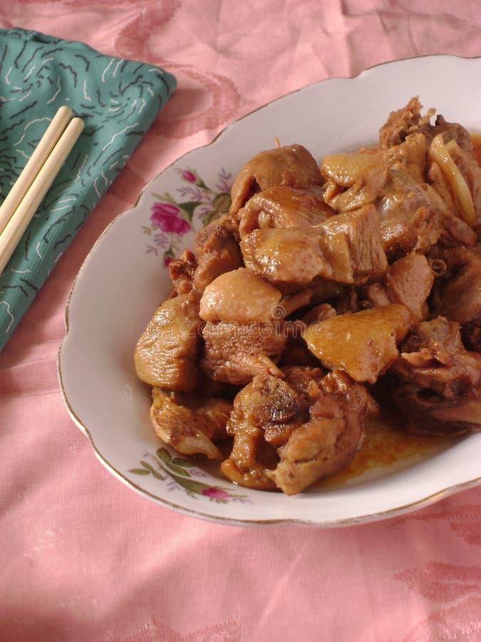 Chińska kuchnia stewed baranina obrazy stock