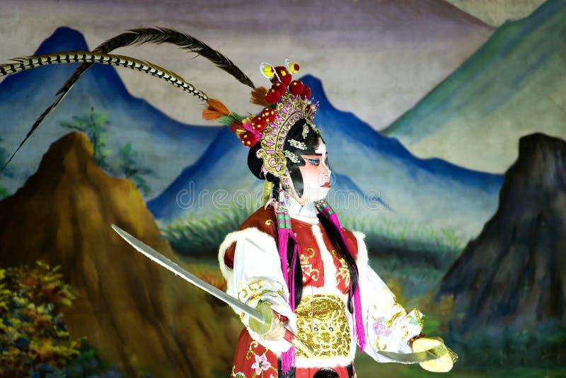 chińska opera. zdjęcie stock