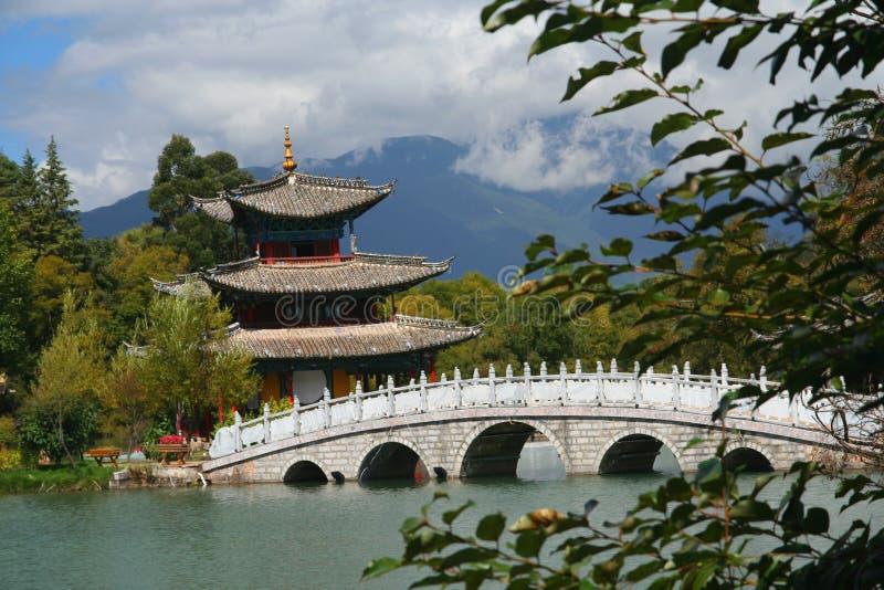 chińska pagoda zdjęcie stock