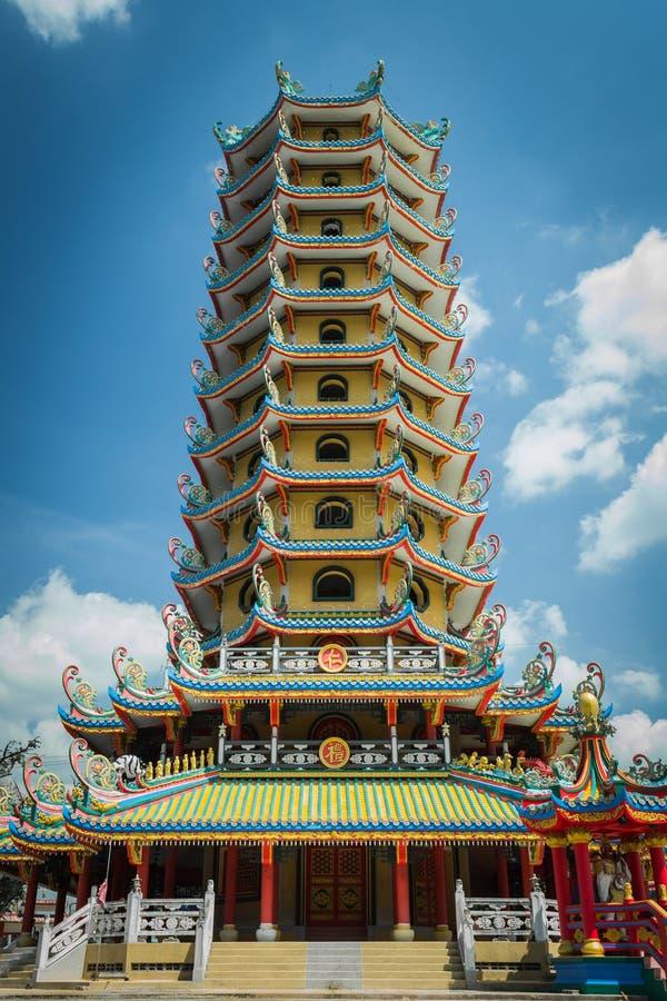 Chińska pagoda obraz stock