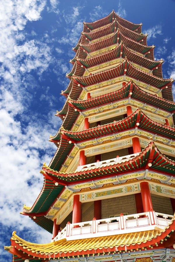 chińska pagoda zdjęcia royalty free
