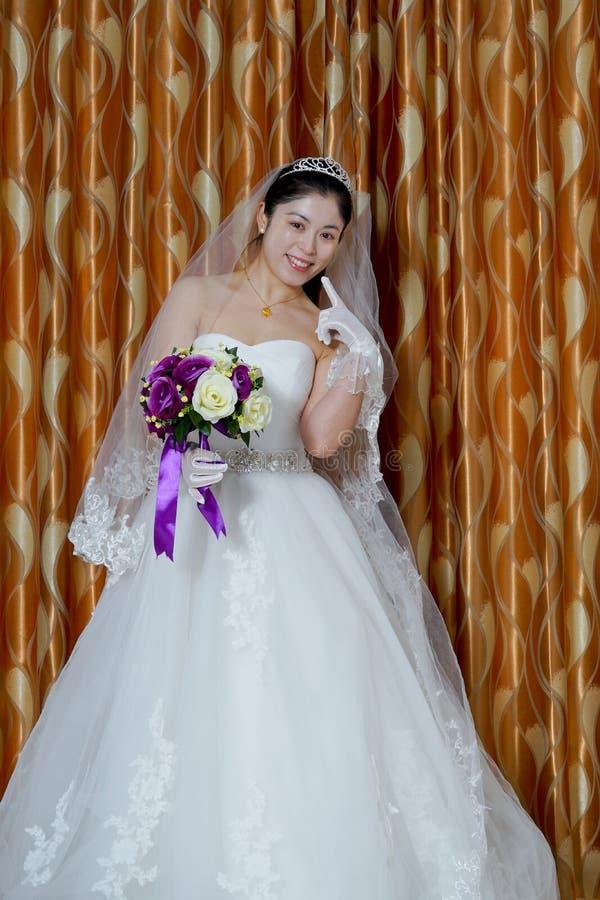 Chińska panna młoda zdjęcie stock