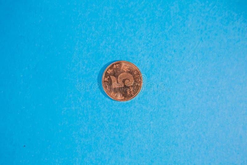 Chińska pieniądze moneta obraz stock