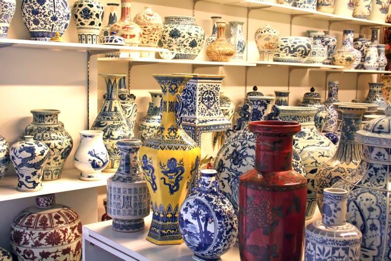 chińska porcelana zdjęcie stock