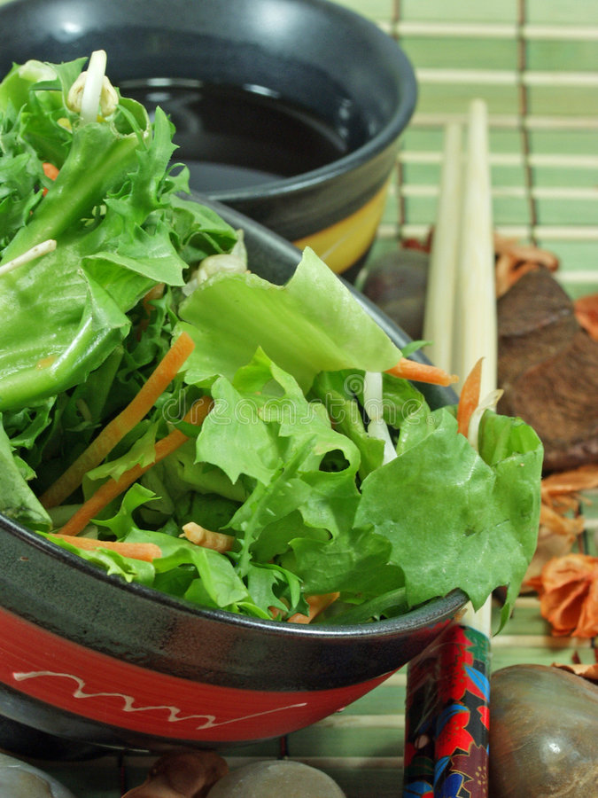 chińska sałatka zdjęcie royalty free