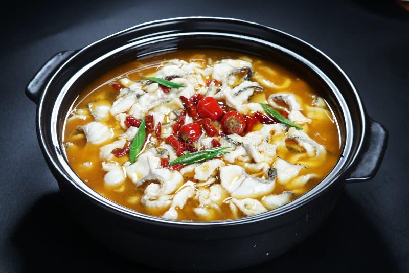 Chińska sauerkraut ryba obrazy royalty free