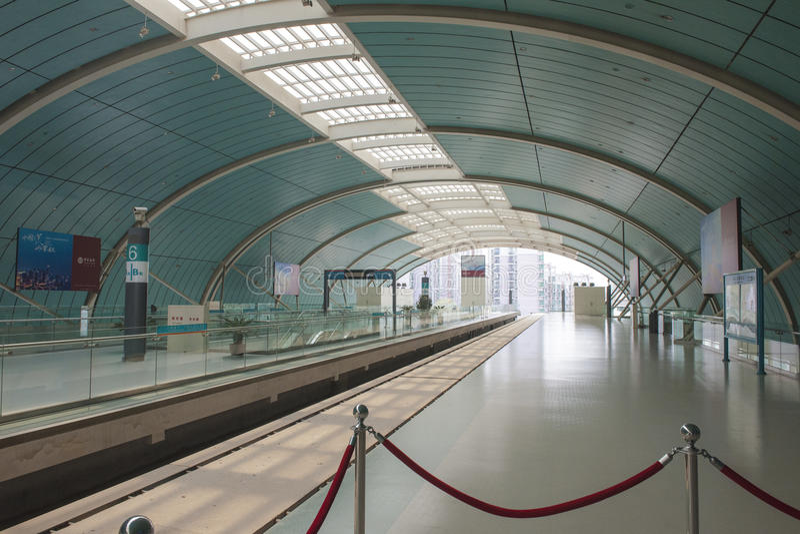 Chińska stacja kolejowa fotografia stock
