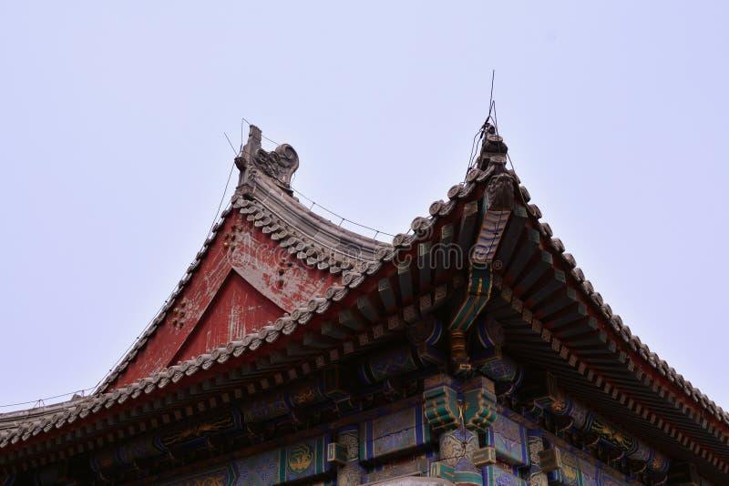 Chińska stara architektura obraz royalty free