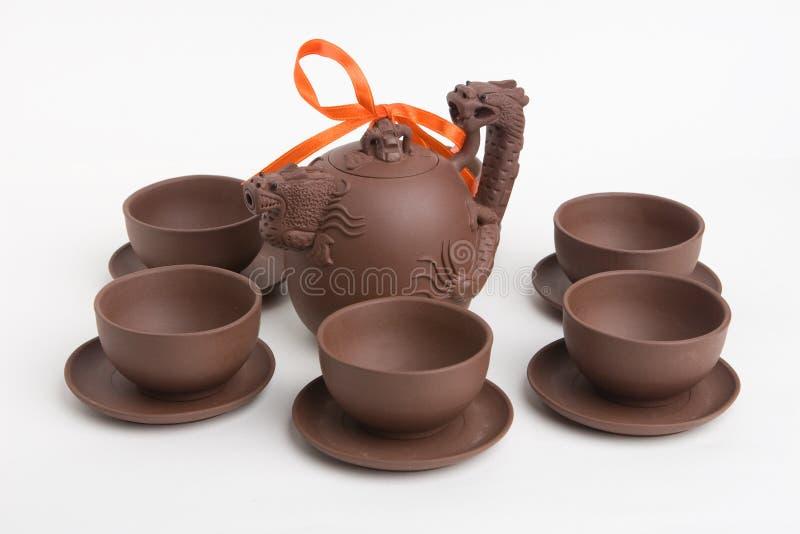 chińska ustalona herbata zdjęcie royalty free