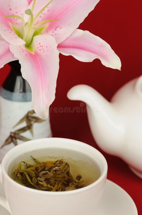 chińska zielona herbata obrazy stock