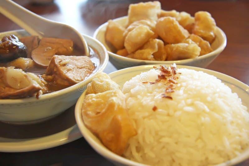 chińska ziołowa zupy obraz stock