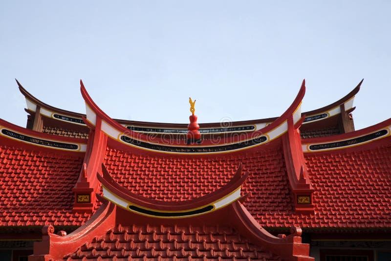 chiński 2 dach obraz stock