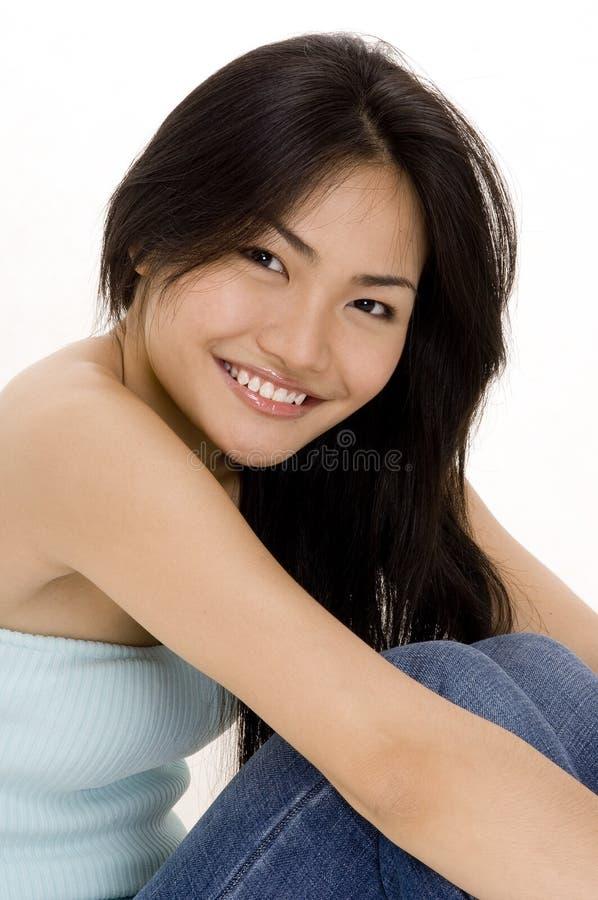 chiński 8 dziewczyna obrazy stock