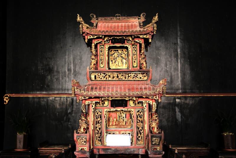 Chiński antyczny miasteczko Taining zdjęcia royalty free