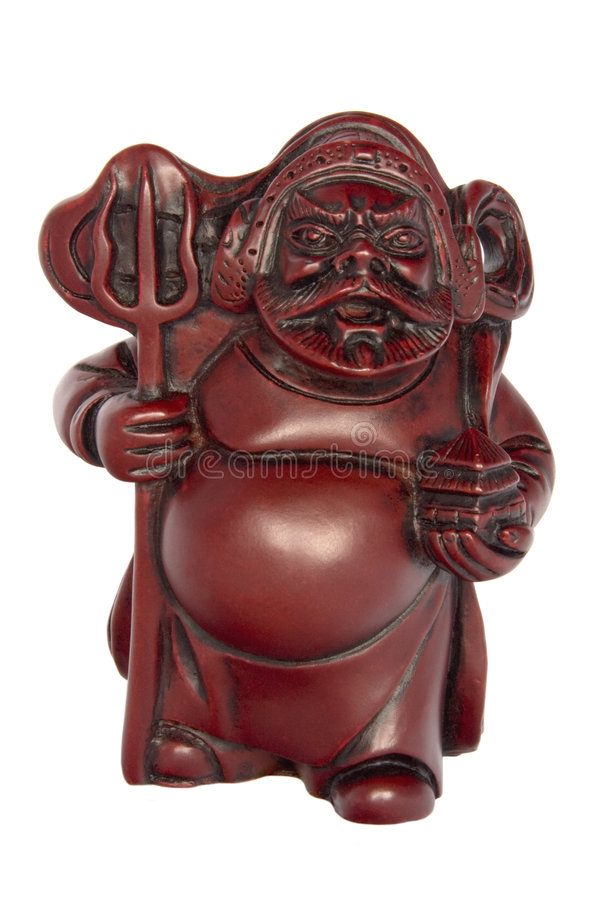 chiński bóg mityczny wojownik fotografia stock