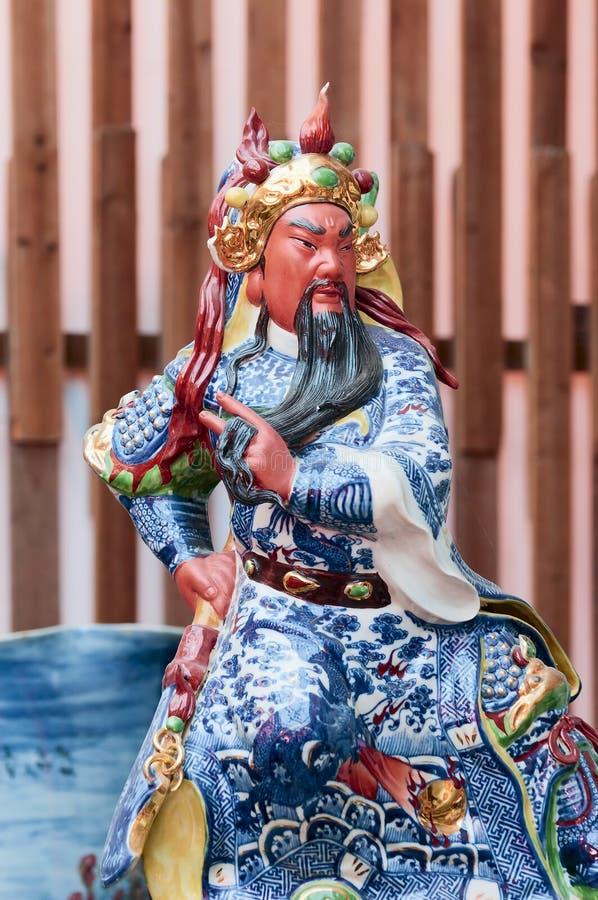 chiński bóg zrobił porcelanie fotografia stock
