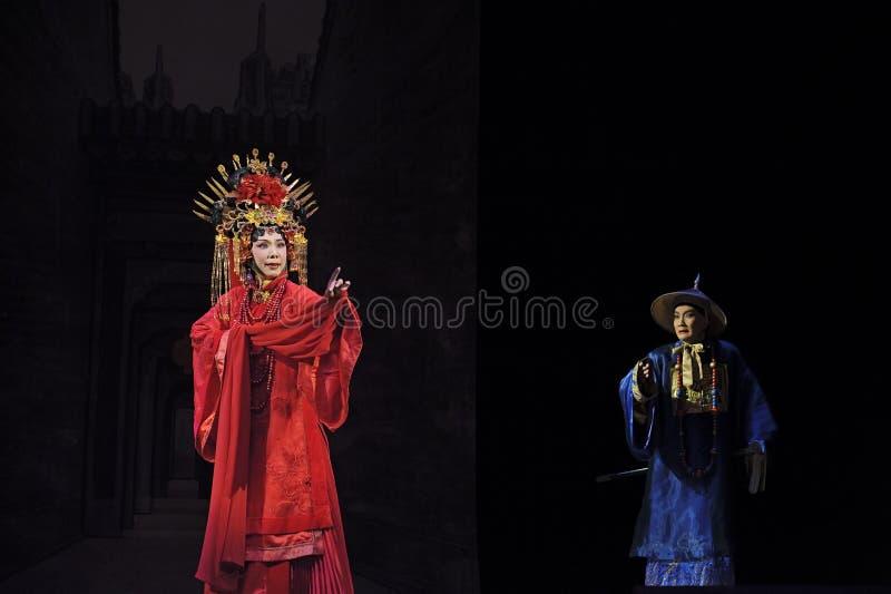Chiński Cantonese opery aktor fotografia stock
