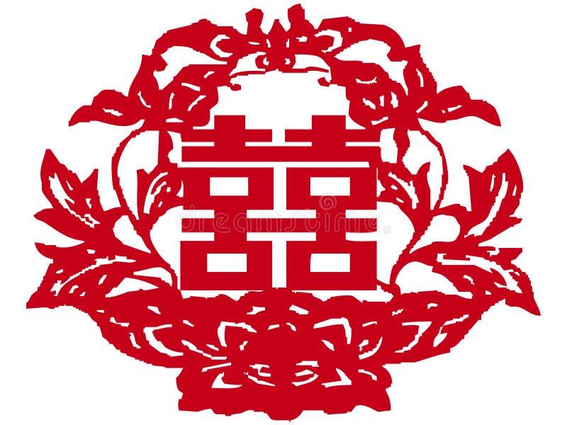 chiński cięcia papieru zdjęcie stock