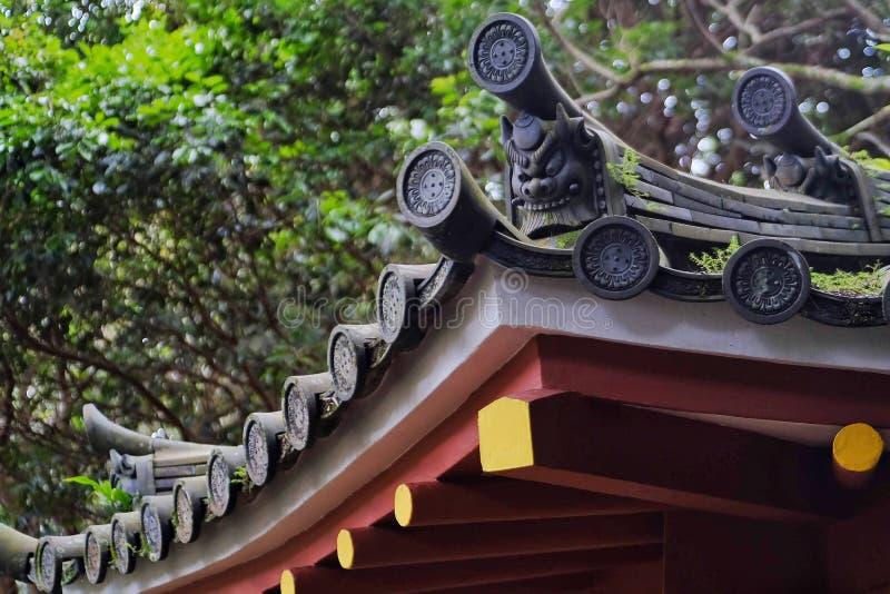 chiński dach zdjęcia stock