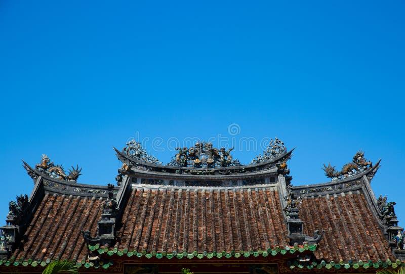 chiński dach zdjęcia royalty free