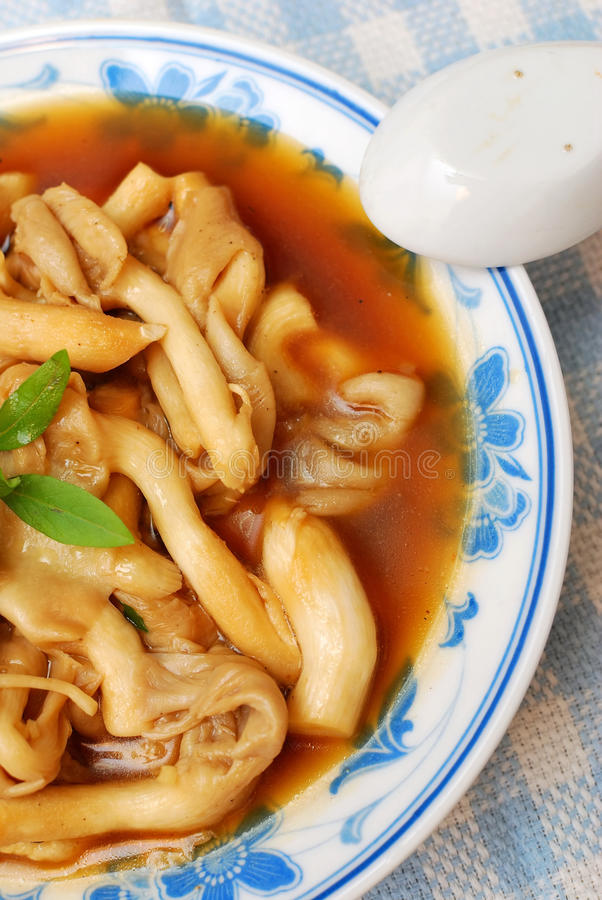 chiński delikatności pieczarki styl zdjęcia royalty free