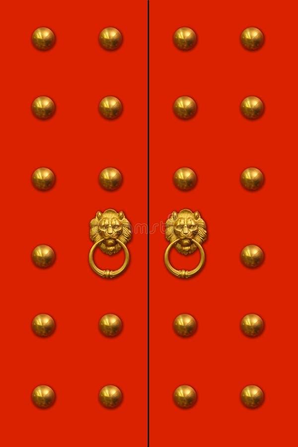 chiński drzwi zdjęcie royalty free