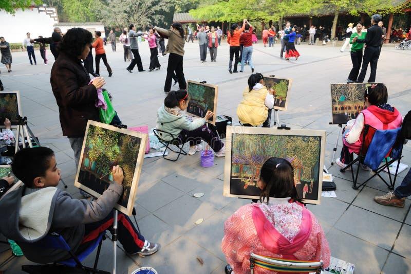 chiński dziecko obraz zdjęcia stock