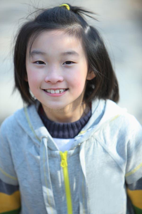 chiński dziecko uśmiech obrazy stock