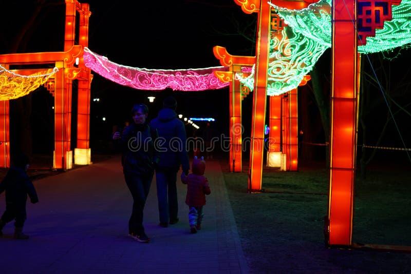 chiński festiwalu latarnia zdjęcie royalty free