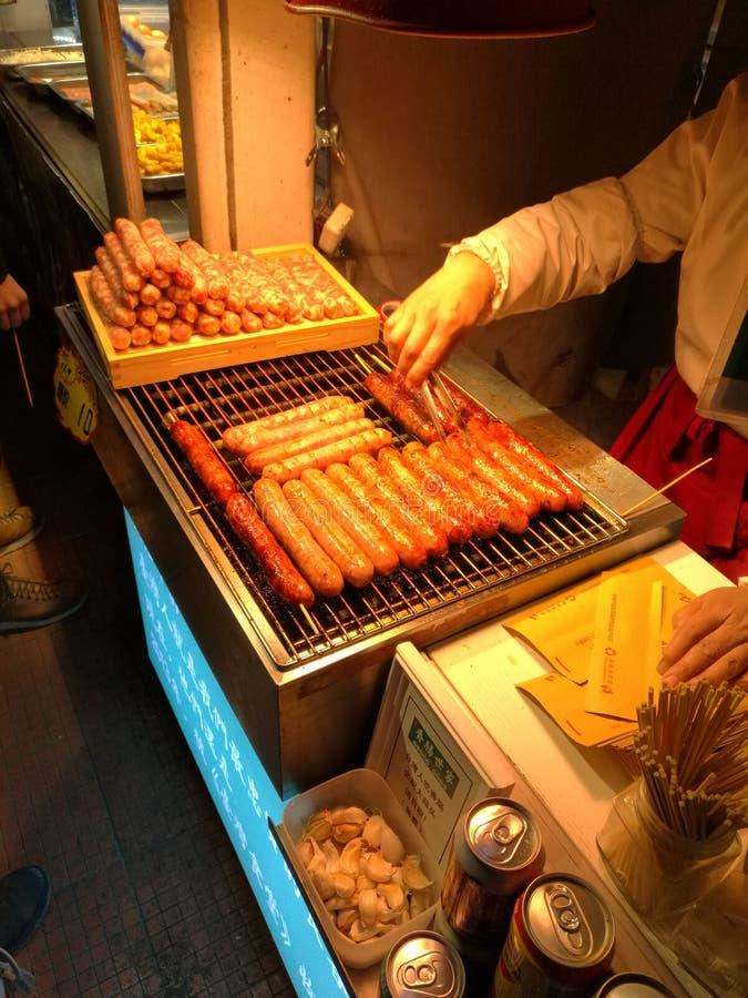 chiński jedzenie aspirujący nieznajomym fotografia royalty free