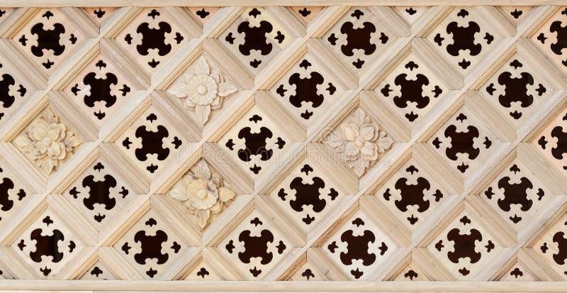 Chiński klasyczny drewniany budynek: sztuki okno tekstura zdjęcia royalty free