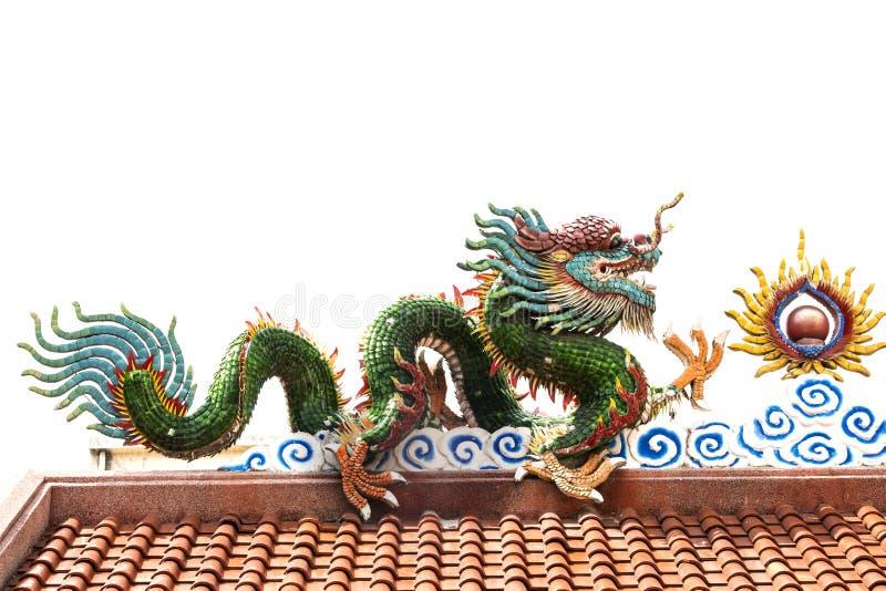 chiński kolorowy smok obraz stock