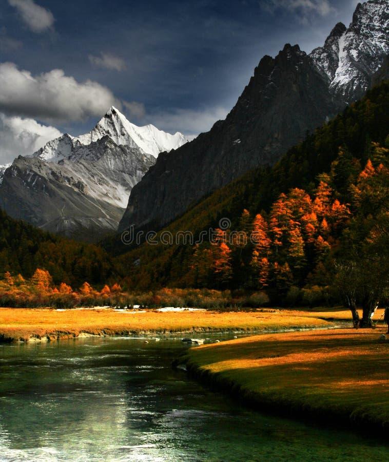 chiński krajobrazu zdjęcia royalty free