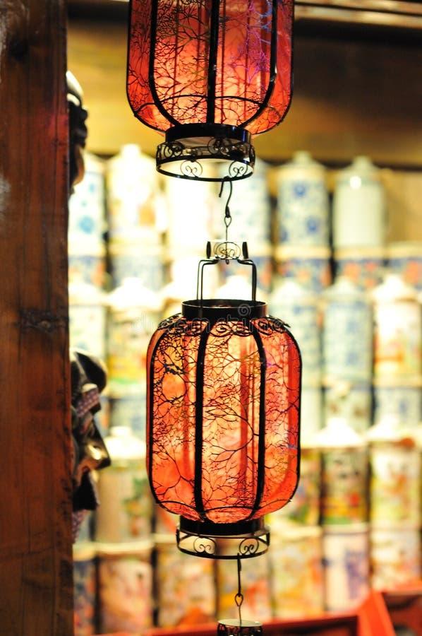 chiński lampion obraz royalty free