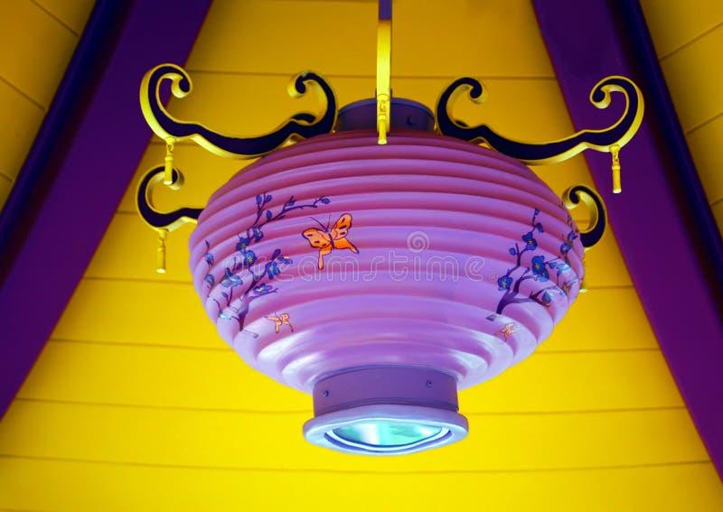 chiński lampionu papier obrazy stock